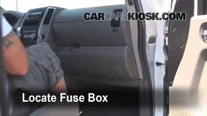 Nissan Frontier Fuse Box by Interior Fuse Box Location 2005 2014 Nissan Frontier