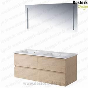 Meuble De Salle De Bain En Solde : meuble vasque en solde ~ Teatrodelosmanantiales.com Idées de Décoration