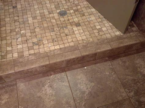 shower curb tile ideas home improvement shower curb