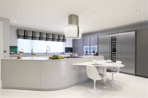 contemporary grey kitchen myth more than a kitchen pedini dune light grey 2458