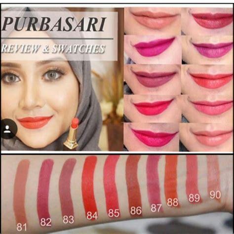 Harga Shadow Purbasari jual beli lipstik purbasari matte shade 84 baru jual