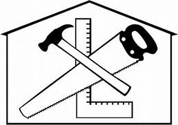 Home Repair Pictures - Cliparts co  Construction House Clip Art Black And White