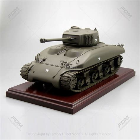 sherman tank military scale model factory direct models