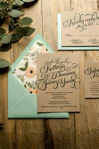 rustic wedding invitations typography wedding invitations secret wedding