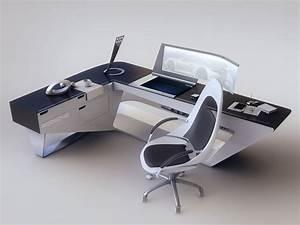 Bureau Moderne Design : modern desk design my decorating tips pinterest bureau mobilier et atelier ~ Teatrodelosmanantiales.com Idées de Décoration