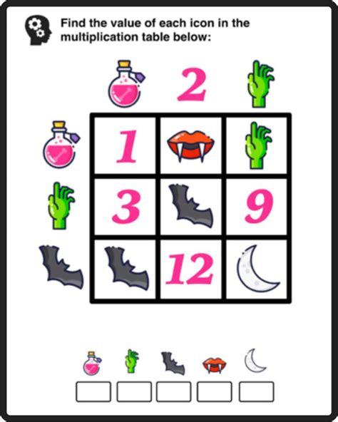 This is a great math multiplication activity! Free Math Puzzles — Mashup Math