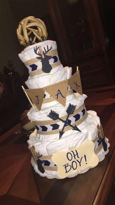 deer diaper cake diapercake  future offspring