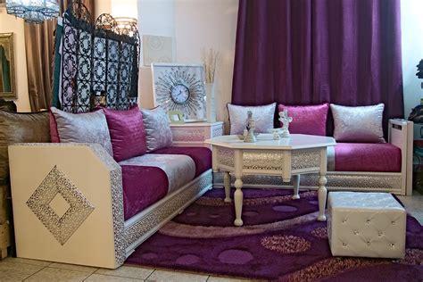 tissu d 39 ameublement pour canapé marocain canapé idées