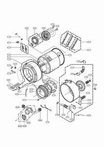 Lg Model Wm0642hw  01 Residential Washers Genuine Parts