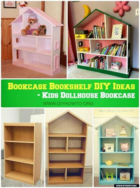 bookcase bookshelf diy ideas  plan