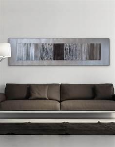 Echo black silver wall art contemporary uk