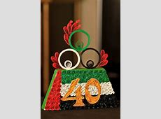 made for UAE National Day celebration quilling