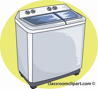 Machine Washing Clip Clipart Wash Household Transparent