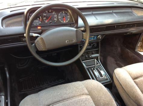 Image Gallery 1979 Audi 5000