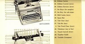Typewriter  Part Of Typewriter And Their Function