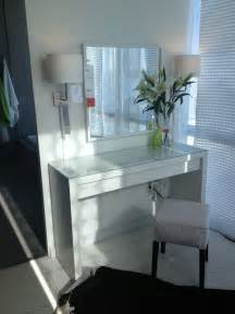malm vanity table ikea makeup vanity ideas pinterest