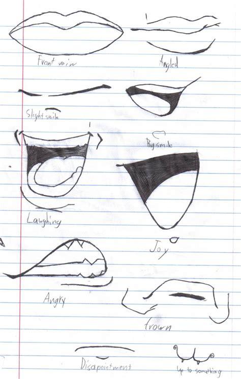 anime mouths  crazy anime chick  deviantart