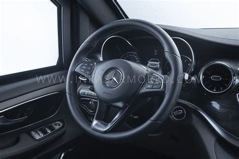 The powerful and expressive front with the tapered hood and. This Heavily Armored Mercedes-Benz V-Class Will Protect You From Grenades   Carscoops