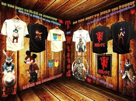 T Wisted-online Facebook T-shirt Store With Unique Designs