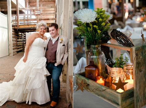 Texas Country Wedding With Vintage Decorations