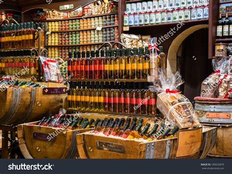 cuisines proven軋les les bauxdeprovence may 16 2013 stock photo 189032879