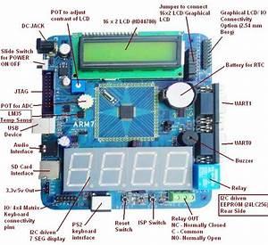 Arm7 - Lpc2148 Evaluation Board