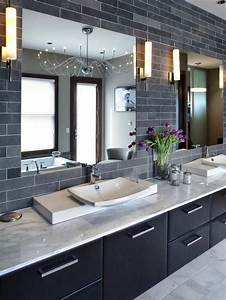 best 25 contemporary bathrooms ideas on pinterest With what kind of paint to use on kitchen cabinets for large 3 dimensional wall art