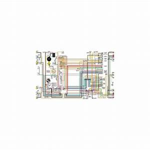 1972 1973 1974 Ford Bronco 11 X 17 Color Wiring Diagram On