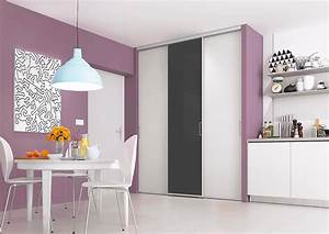 Porte Coulissante Placard : portes de placard coulissantes de cuisine sur mesure ~ Medecine-chirurgie-esthetiques.com Avis de Voitures
