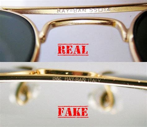facts    difference   real   fake ray ban sun glasses