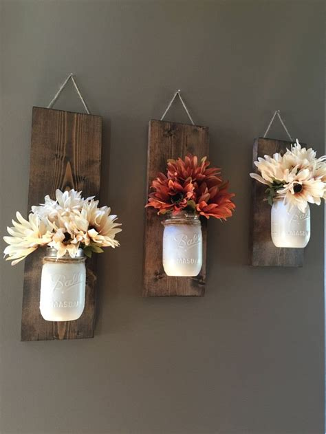 flower vase decoration home best 25 diy rustic decor ideas on kitchen curtain designs diy curtains and rustic
