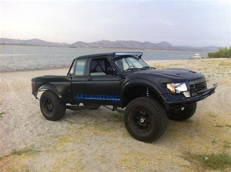 prerunner ranger raptor 80 92 ford ranger to raptor off road fiberglass one piece