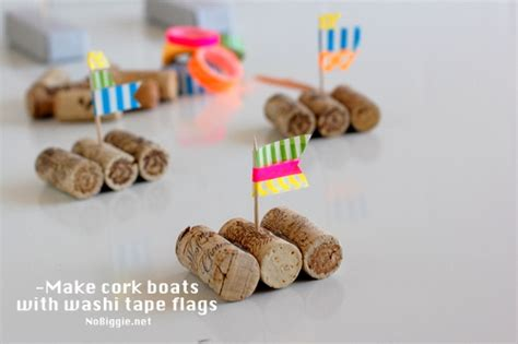 Wine Cork Boat Craft by Cork Boat Races
