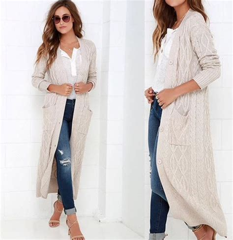 Long White Duster Sweater | Fashion Skirts