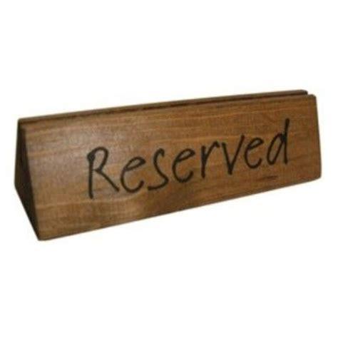 wooden reserved table signs 25 best menu holders images on pinterest menu holders