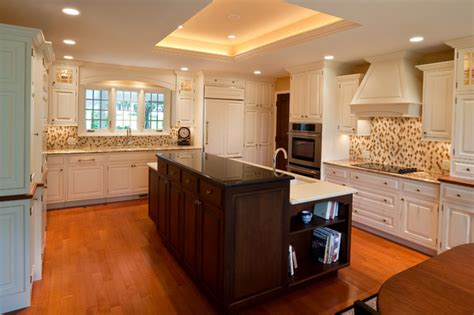 kitchen remodel  tray ceiling contemporary kitchen