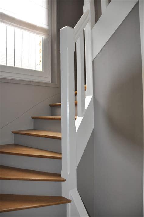 renovation dune cage descalier contemporain escalier