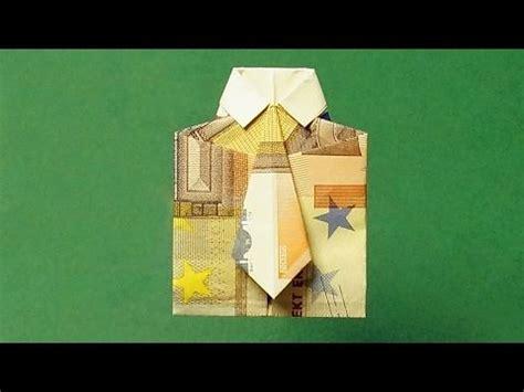 geldschein falten hemd geldgeschenke basteln hochzeit