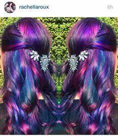 Purple and pink hair Pravana vivids Base formula purple