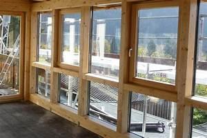 Beschattung Wintergarten Innen Selber Machen : wintergarten glasadach mit holz und aluprofilen bauen ~ Michelbontemps.com Haus und Dekorationen