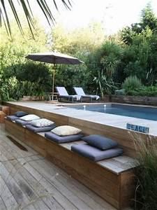 les 25 meilleures idees de la categorie piscine bois sur With terrasse en bois pour piscine hors sol 5 piscine 100 bois decouvrez cette nouvelle piscine bois