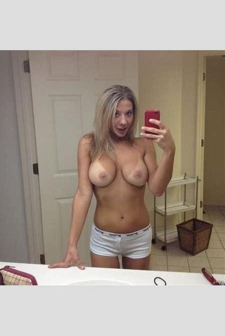 self-pics.com - Big tittied amateur selfie