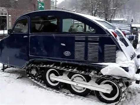Vintage Bombardier Snowmobiles