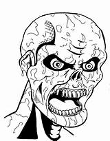 Scary Coloring Pages Mummy Monster Creepy Ancient Printable Drawing Another Dad Mom Getdrawings Sheet Getcolorings Colori sketch template