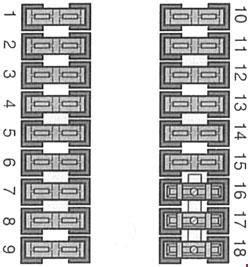 mercedes benz vito w638 1996 2003 fuse box diagram