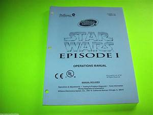 Star Wars Episode I By Williams 1999 Original Pinball