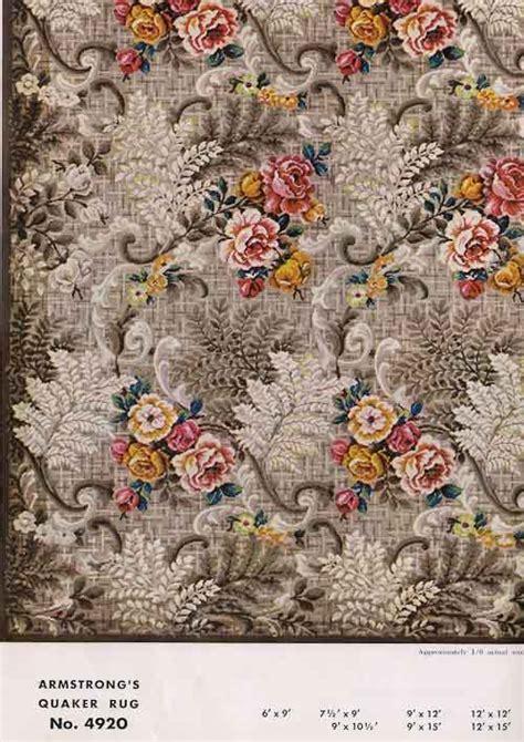 linoleum flooring vintage patterns 31 linoleum rugs from armstrong 1954 retro renovation