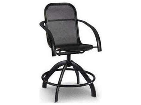 mesh bar stools homecrest florida mesh aluminum arm swivel counter stool 4083