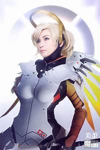 Overwatch Mercy Cosplay By Shizuka