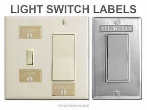 kyle switch plates With electrical switch labels